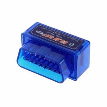 Адаптер Elm327 Bluetooth micro синий v2.1
