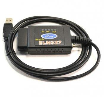 Адаптер Elm327 USB с переключателем CAN-шины