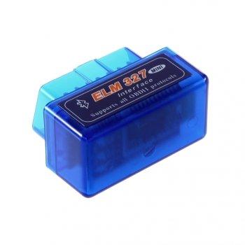Адаптер Elm327 Bluetooth micro синий v1.5