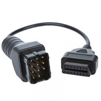 Переходник 12 Pin - OBD 2 16 Pin для Renault и ГАЗ