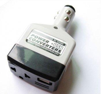 Инвертор 12/24 - 220 Вольт в прикуриватель