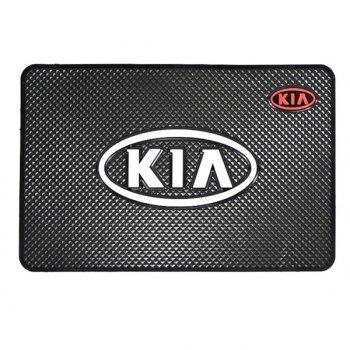 Коврик на торпеду с логотипом KIA