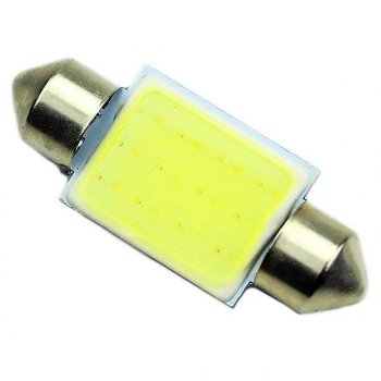 Супер-яркая светодиодная лампа C5W 42 мм